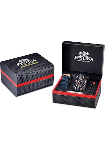 Festina Chronograph »Special Edition Chrono Bike 2020, F20524/1« (Set, 3 tlg., mit Wechselband und Schraubenzieher) kaufen