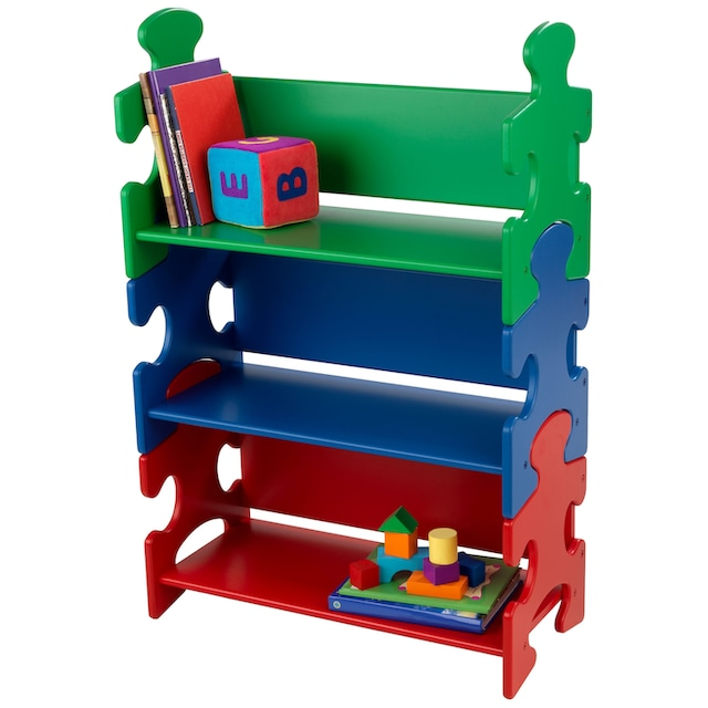 "KidKraft® Bücherregal ""Puzzle - Primary"""
