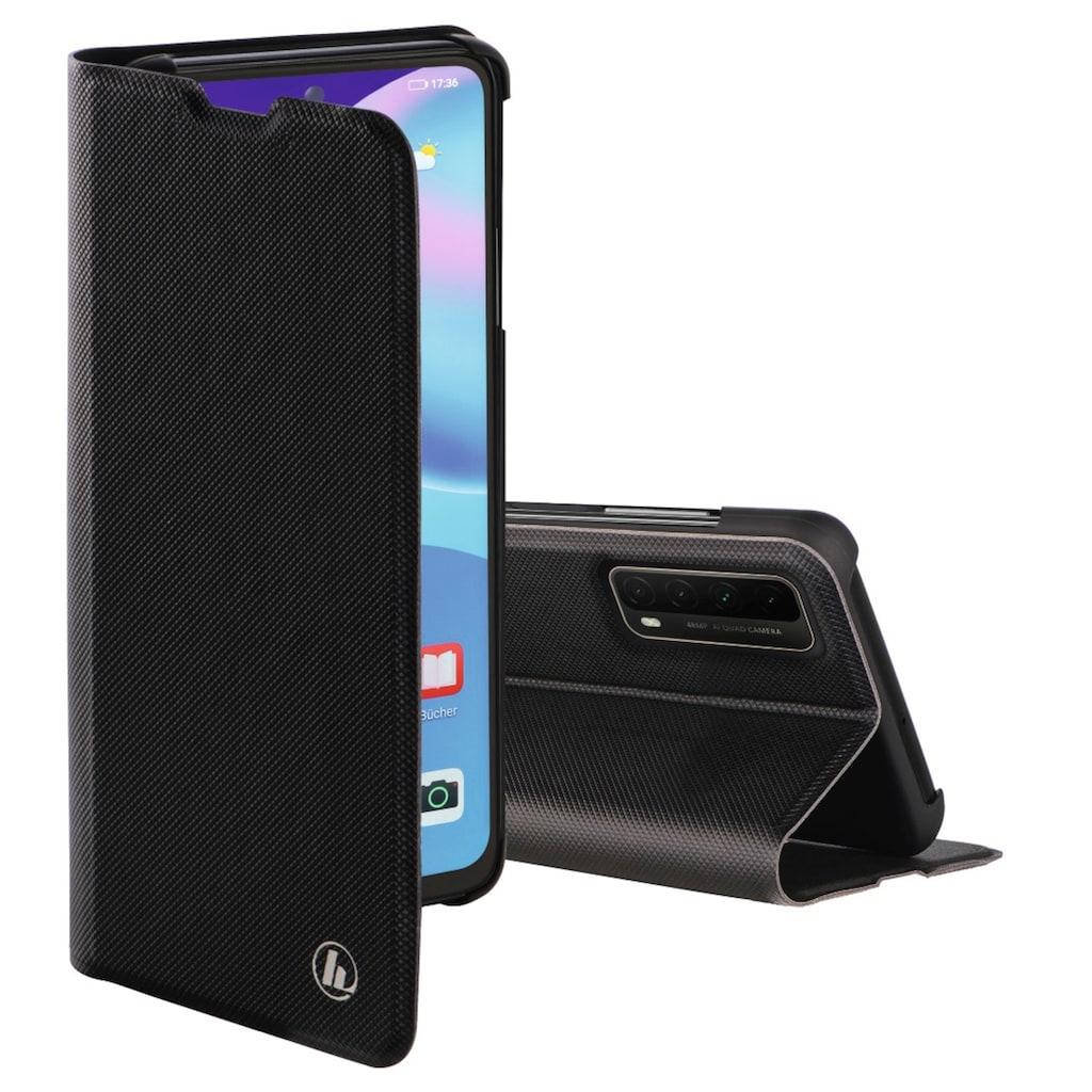 """Hama Handyhülle »Smartphone-Booklet Tasche«, Huawei P smart, """"Slim Pro"""" für Huawei P smart 2021, Schwarz"""