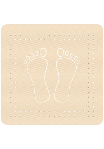 KLEINE WOLKE Duscheinlage »Foot«, BxH: 55 x 55 cm kaufen