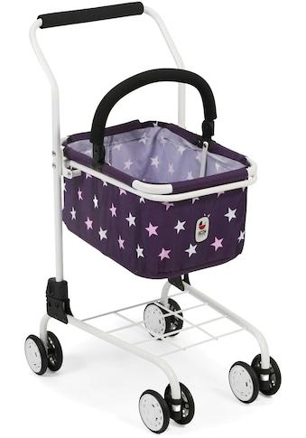 CHIC2000 Spiel-Einkaufswagen »Kinder Einkaufswagen, Stars lila«, mit abnehmbarem... kaufen
