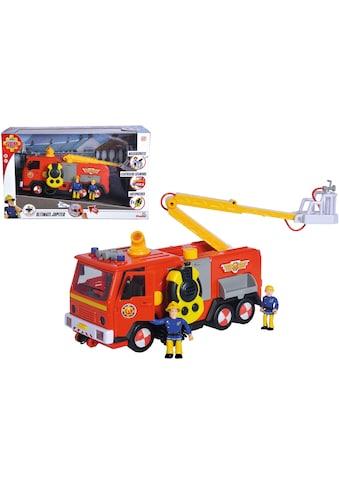 SIMBA Spielzeug-Feuerwehr »Feuerwehrmann Sam, Mega Deluxe Jupiter«, mit Licht und Sound kaufen