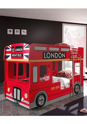 London Bus-Etagenbett in Rot