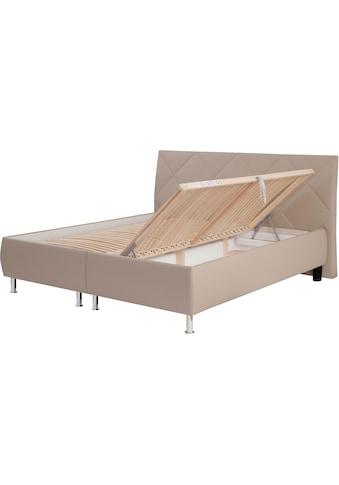 ADA trendline Polsterbett »Rosella«, inklusive Lattenrost und Bettkasten, wahlweise... kaufen
