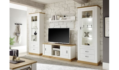 Home affaire Wohnwand »Orlando«, (Set, 4 St.), mit Schiebetüren kaufen