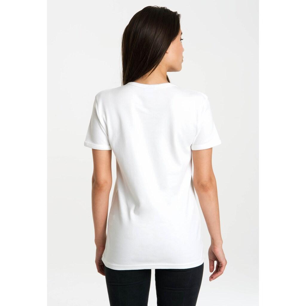 LOGOSHIRT T-Shirt »Pippi Langstrumpf«, mit lizenziertem Originaldesign