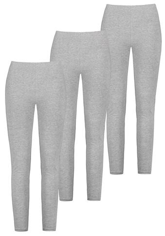 SUBLEVEL Leggings, (3 tlg.), aus Baumwolle kaufen