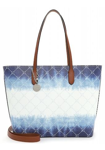 Tamaris Shopper »Anastasia Batic«, in schickem Batic-Design kaufen