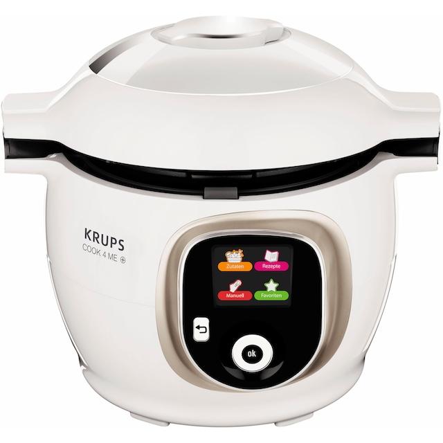 Krups Multikocher CZ7101 Cook4Me +, 1600 Watt, Schüssel 6 Liter