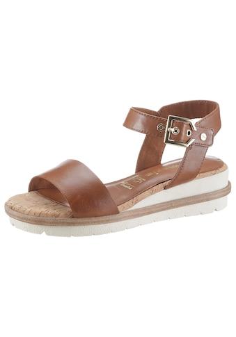 Tamaris Sandale »Eda«, im schlichten Design kaufen
