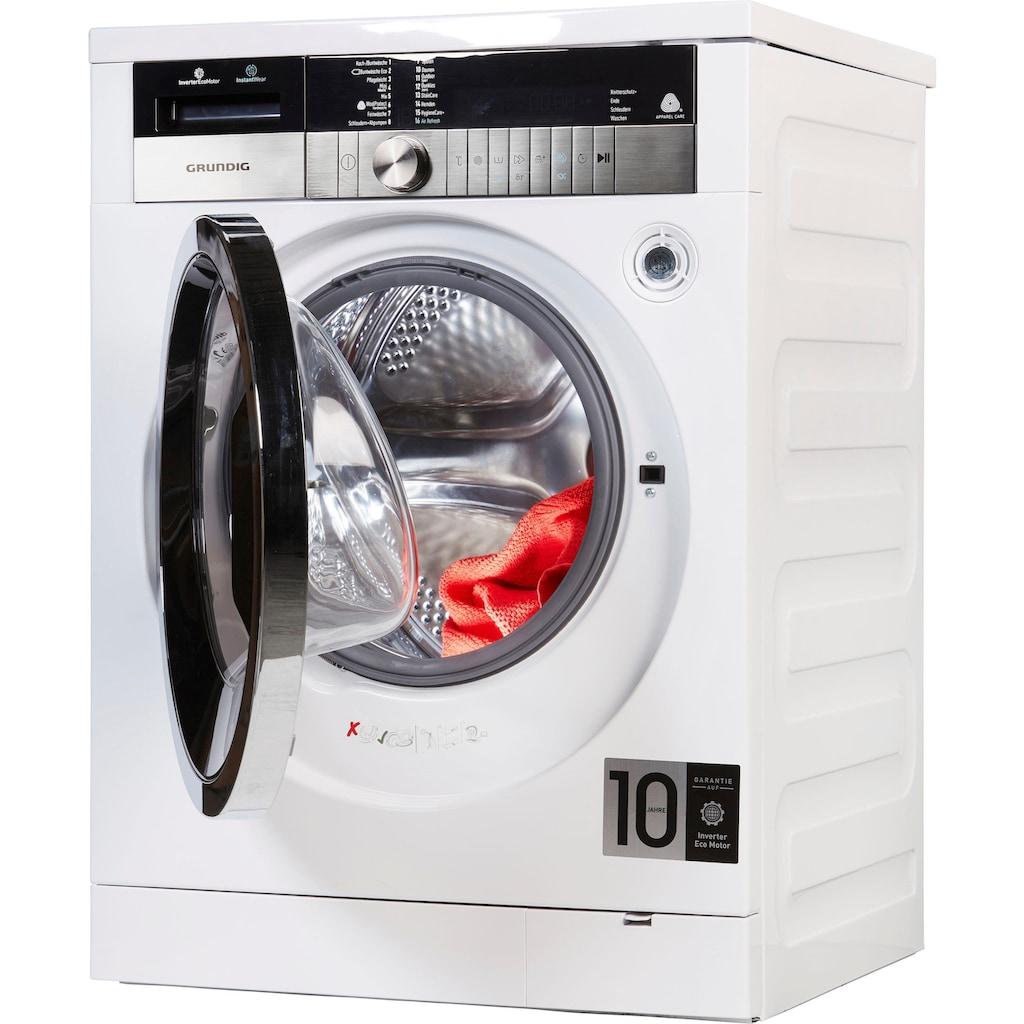 Grundig Waschmaschine GWN 48430 XIW