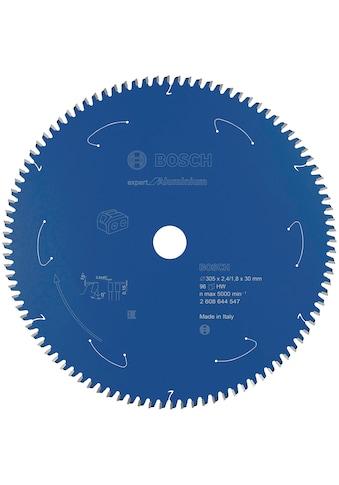 BOSCH Kreissägeblatt »Expert for Aluminium«, für Akkusägen, 305 x 2,4/1,8 x 30, 96 Zähne kaufen