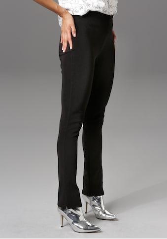 Aniston CASUAL Leggings, mit Beinschlitz - NEUE KOLLEKTION kaufen