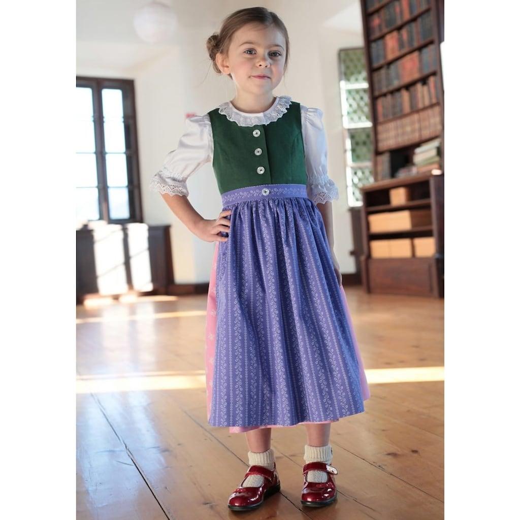 "H. Moser Dirndl, Kinder ""Aussee"" in traditioneller Farbkombination"
