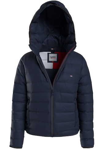 Tommy Jeans Steppjacke »TJW Quilted Tape Hooded Jacket«, mit Tommy Jeans Logo-Flag kaufen