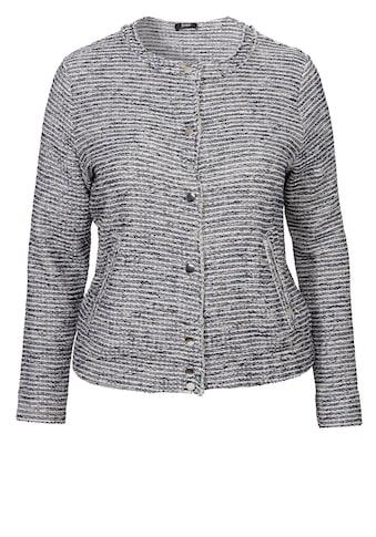 FRAPP Stylische Jacke mit Fransen kaufen