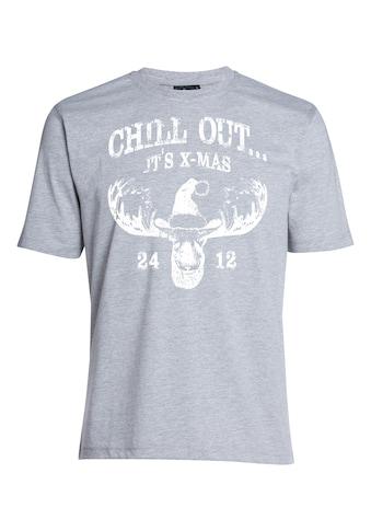 AHORN SPORTSWEAR T-Shirt mit tollem Frontprint kaufen