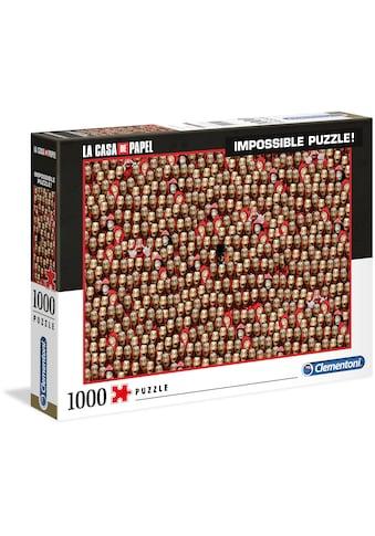 Clementoni® Puzzle »Impossible Collection - Das Haus des Geldes«, Made in Europe kaufen