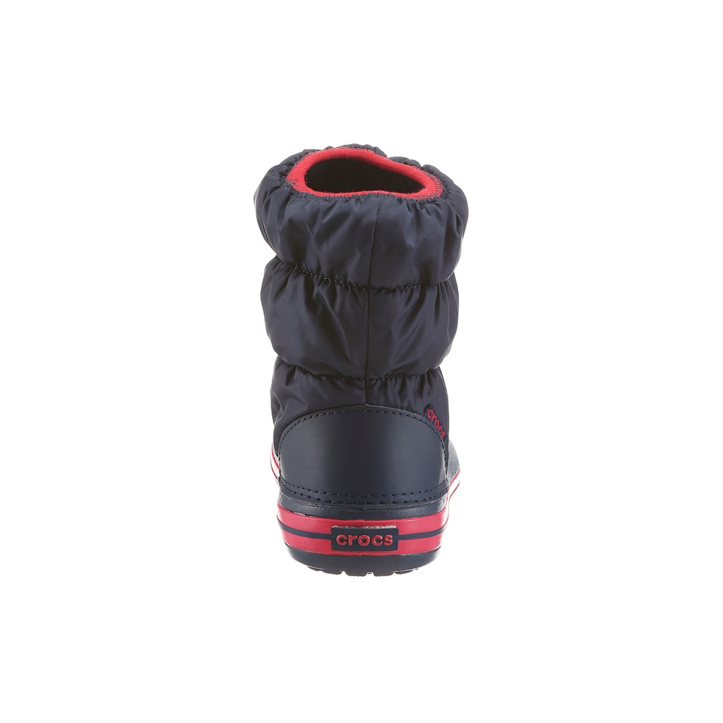 Crocs Stiefel »Winter Puff Boots Kids«, zum Reinschlüpfen