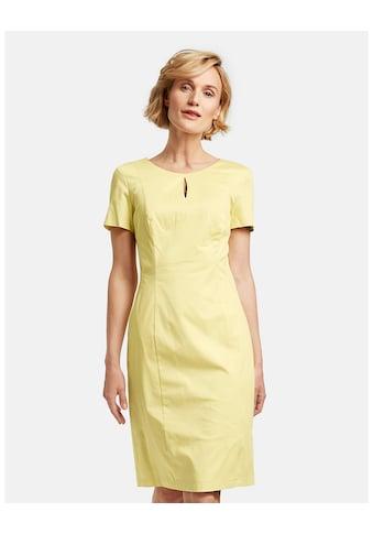 GERRY WEBER Kleid Gewebe »Etuikleid aus stretchiger Baumwolle« kaufen