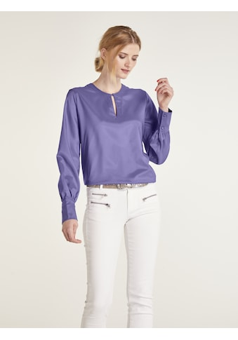 Bluse mit raffiniertem Ausschnitt kaufen