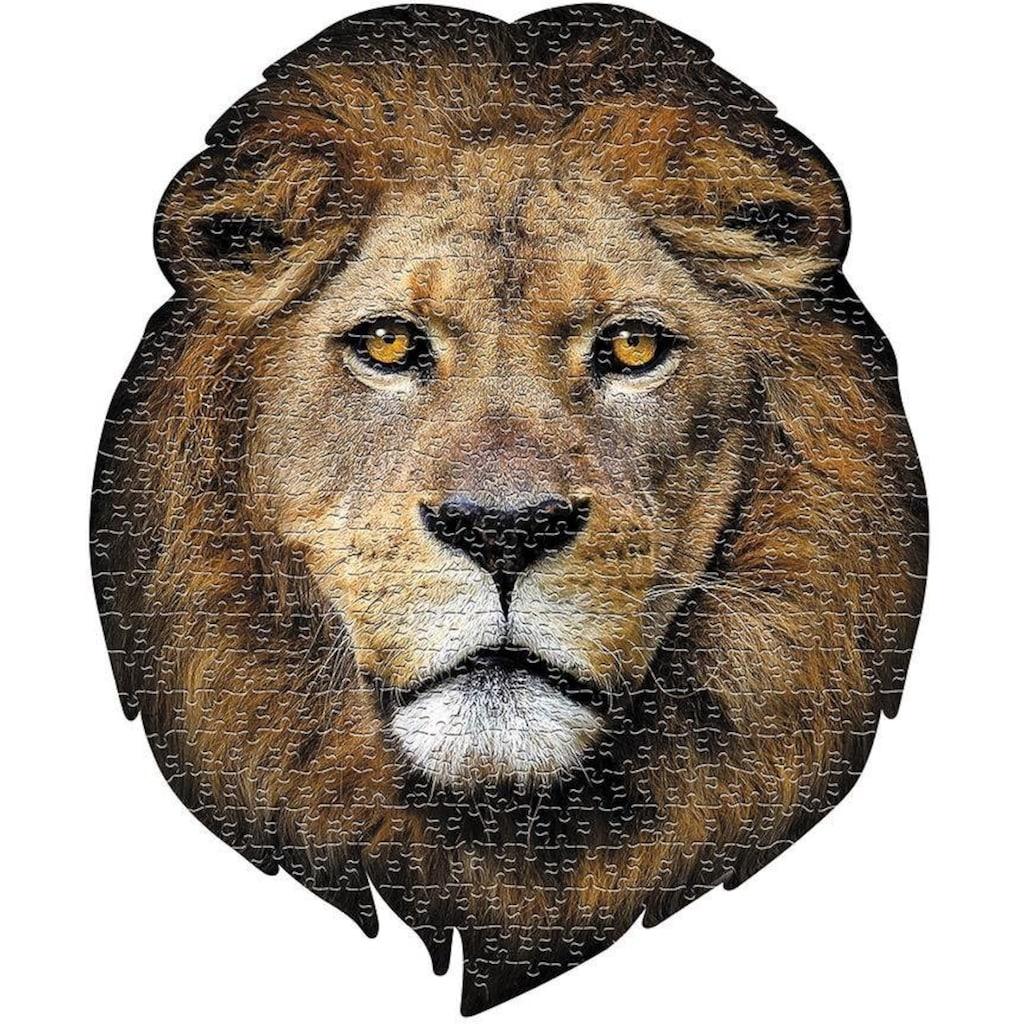 Konturenpuzzle »Löwe«