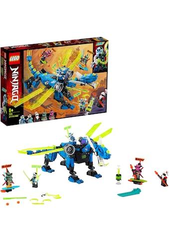 LEGO® Konstruktionsspielsteine »Jays Cyber-Drache (71711), LEGO® NINJAGO®«, (518 St.),... kaufen