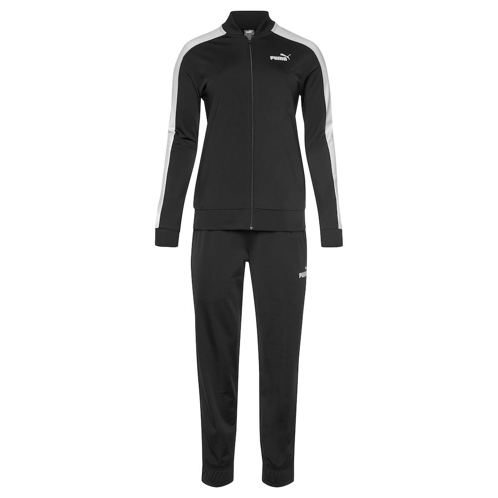 PUMA Trainingsanzug »Baseball Tricot Suit cl«, (Set, 2 tlg.)