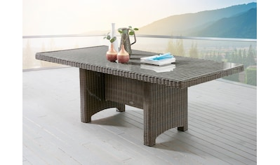 DESTINY Gartentisch »Luna«, Polyrattan, 200x100 cm kaufen