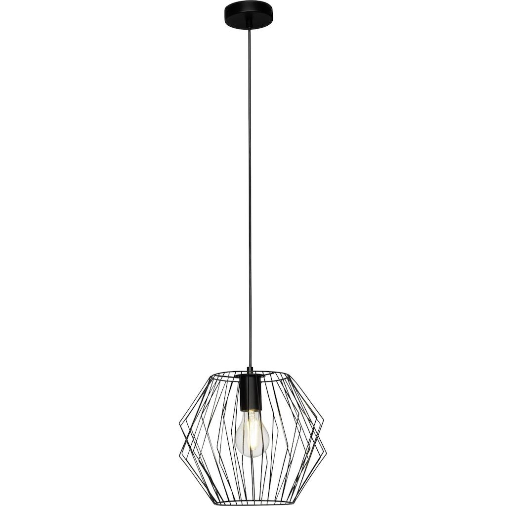 Brilliant Leuchten Noris Pendelleuchte 28cm schwarz