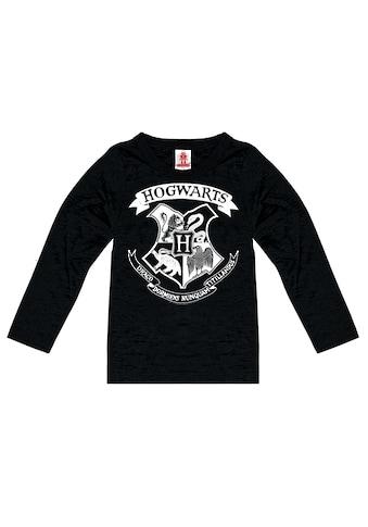 LOGOSHIRT Langarmshirt, mit tollem Hogwarts-Print kaufen