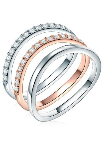 Rafaela Donata Ring-Set »ST134«, (1 tlg.), mit Zirkonia kaufen