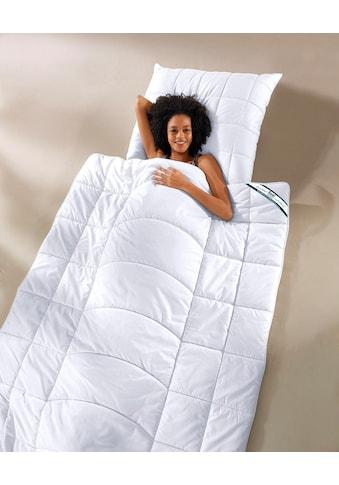 f.a.n. Schlafkomfort Microfaserbettdecke »Körperzonensteppung«, Füllung Polytherm (100% Polyester), Bezug Microfaser-Feinbatist, uni (100% Polyester), (1 St.) kaufen