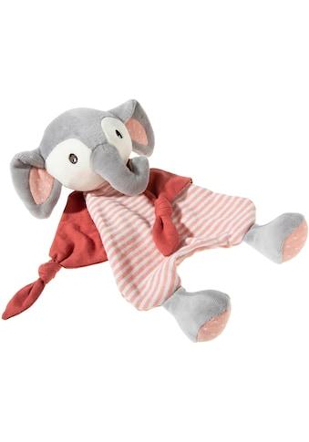 Heunec® Schnuffeltuch »FrohNATURen Elefant Cranberry«, mit individueller Bestickung;... kaufen