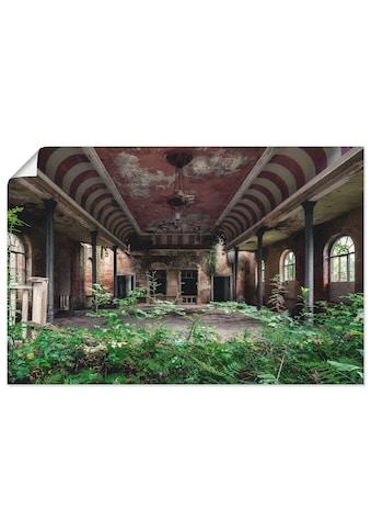 Artland Wandbild »Lost Places - Tanzsaal - verlassen«, Gebäude, (1 St.), in vielen... kaufen