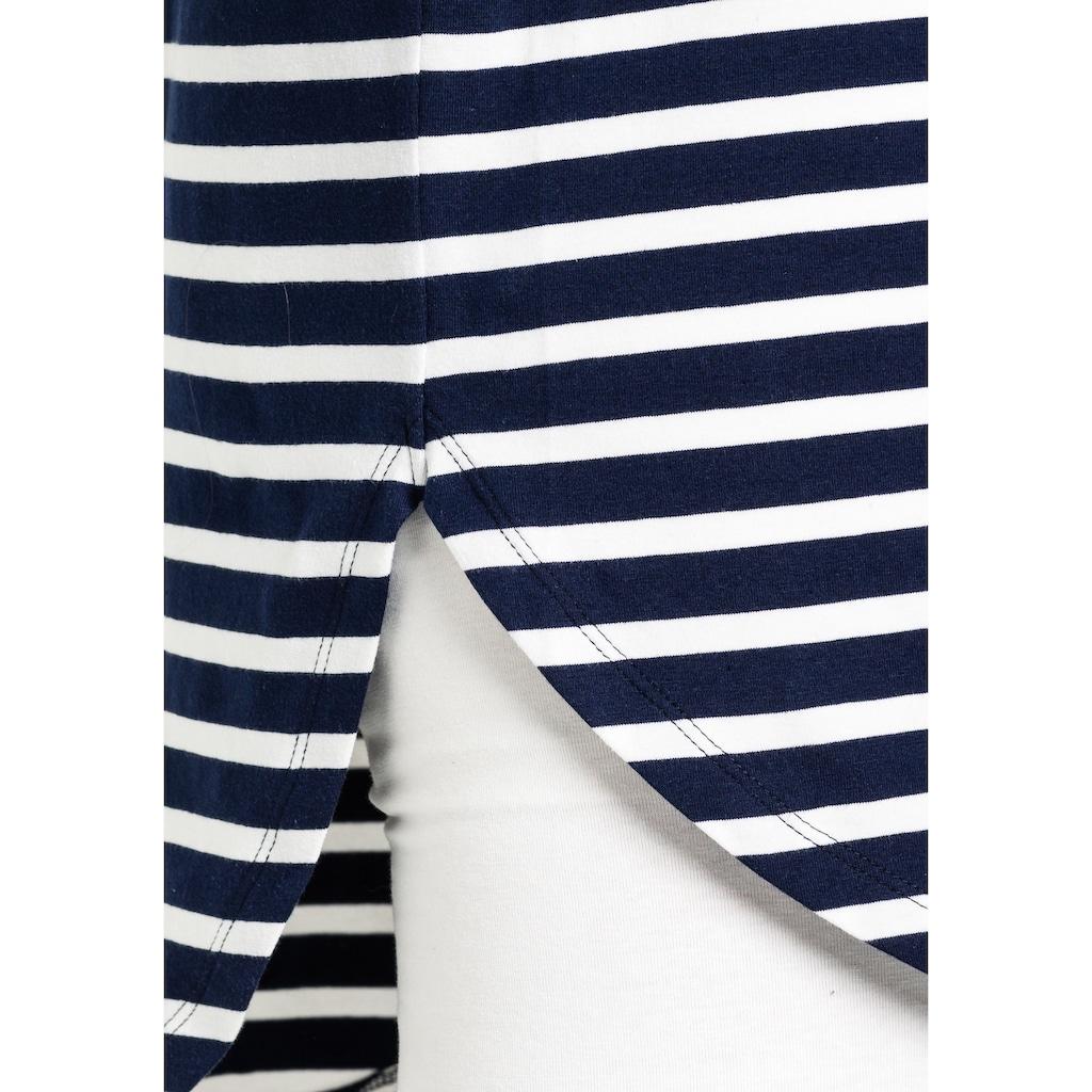 Sheego Longshirt, mit Streifen