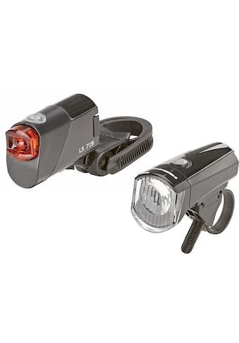 Prophete Fahrradbeleuchtung »LED - Batterieleuchten - Set 15 Lux« (2 - tlg., Front -  und Rücklicht) kaufen