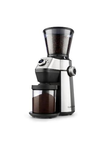 Klarstein Kaffeemühle Kegelmahlwerk 150W 300g 15 Mahlgrad »TRIEST« kaufen