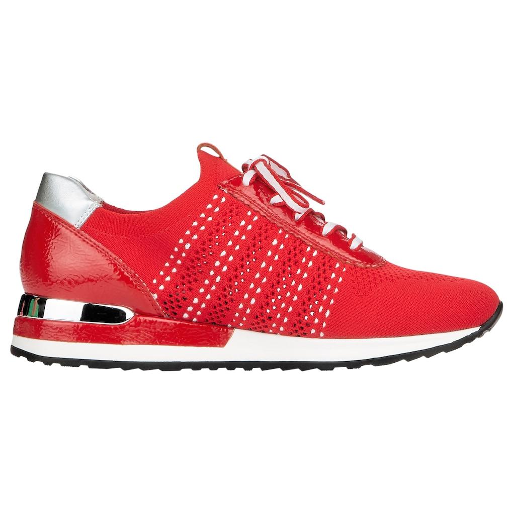Remonte Slip-On Sneaker, mit modischen Metallic-Details