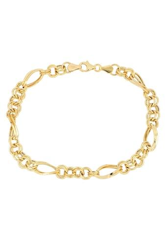 Firetti Goldarmband »in Figarokettengliederung, 5,8 mm, glänzend, Zwillingsglieder... kaufen