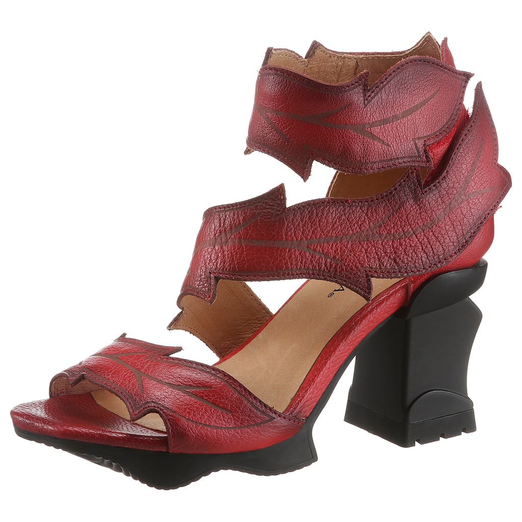 LAURA VITA Sandalette »ARCMANCEO«, mit auffälligem Sohlen-Design