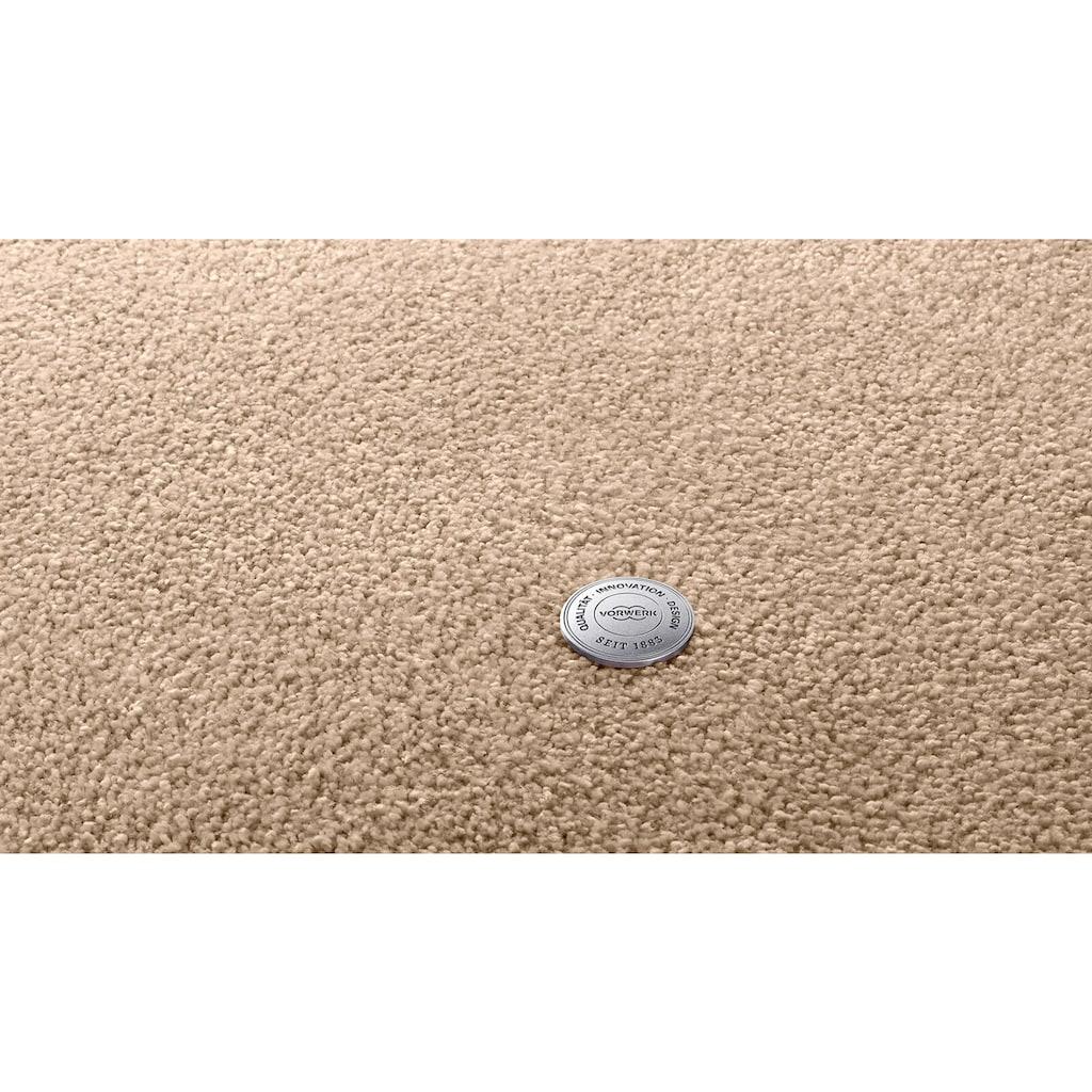 Vorwerk Teppichboden »EXCLUSIVE 1066«, rechteckig, 13 mm Höhe, Soft-Frisévelours, 400 cm Breite