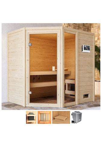 Karibu Sauna »Josie«, 9-kW-Bio-Ofen mit ext. Steuerung kaufen