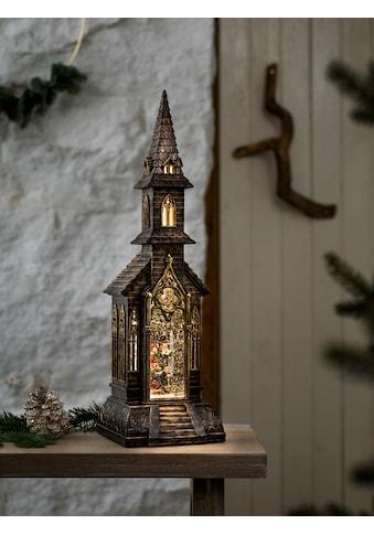 KONSTSMIDE Weihnachtsfigur, LED Kirche, wassergefüllt kaufen