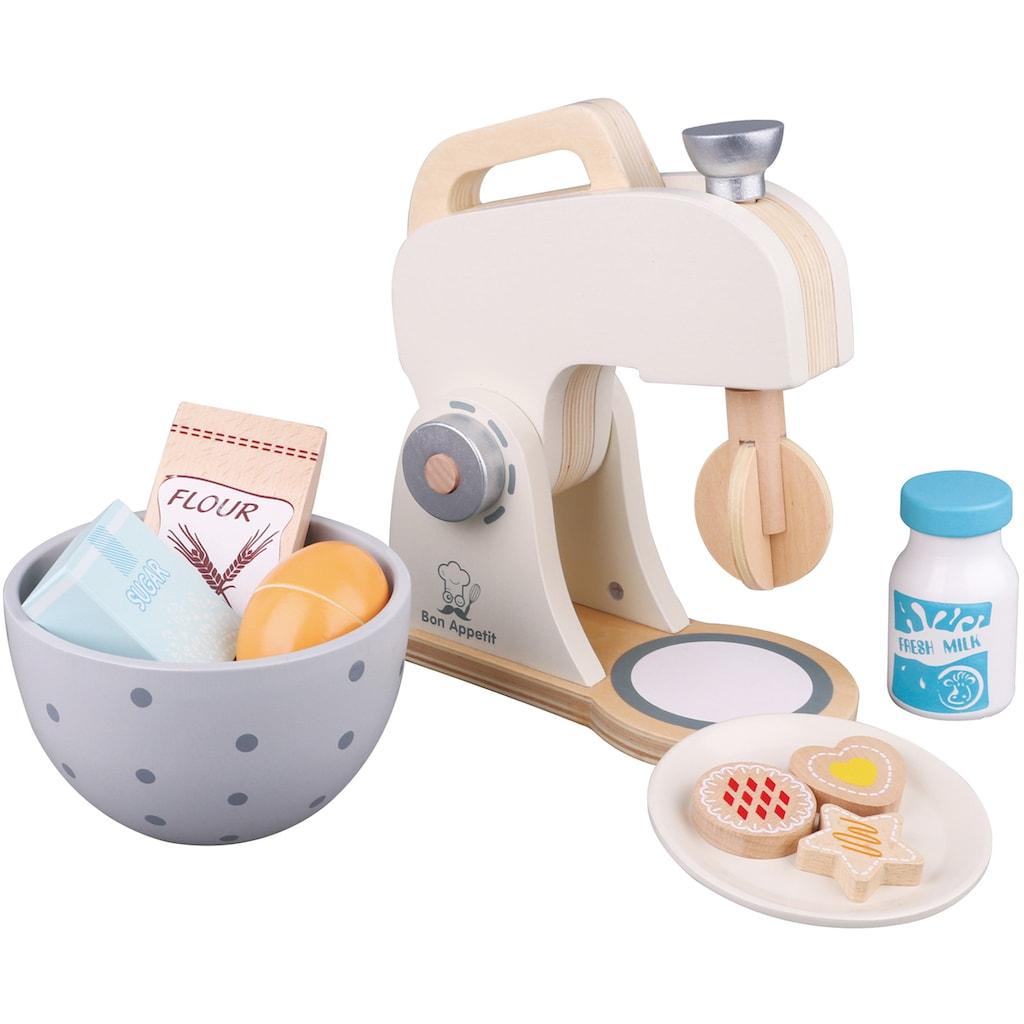 New Classic Toys® Kinder-Rührgerät »Bon Appetit - Mixer mit Zubehör, Creme«