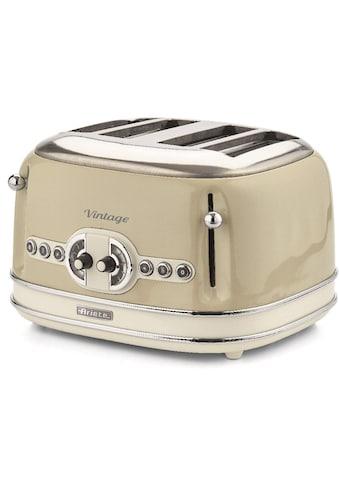 Ariete Toaster »Vintage«, 4 kurze Schlitze, für 4 Scheiben, 1600 W kaufen
