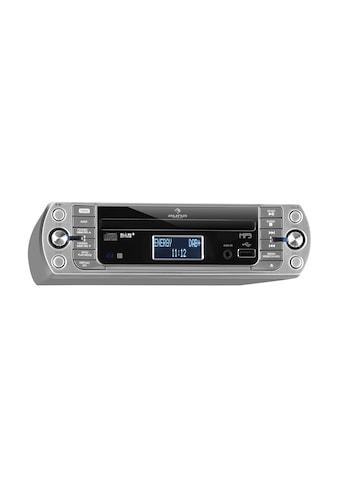 Auna Küchenradio, DAB+/PLL FM, CD/Mp3 - Player silber »KR - 400 CD« kaufen