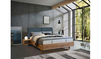 ADA premium Massivholzbett »Nolana«, inkl. Nachtkonsolen, wahlweise mit Matratze und... kaufen