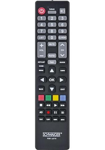 Schwaiger Ersatzfernbedienung für alle LG TV-Geräte (LCD, LED, PLASMA) kaufen