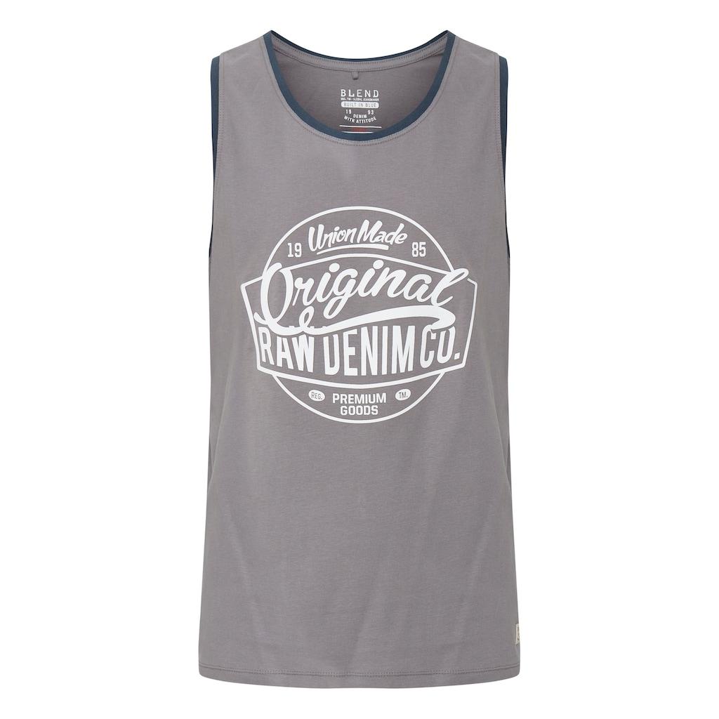 Blend Tanktop »Walex«, ärmelloses Shirt mit Print
